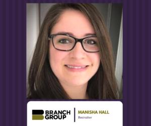 Manisha Hall, Recruiter