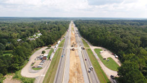 Progress Photo of I-64 Widening Exit 200 to 205 Joint Venture Project