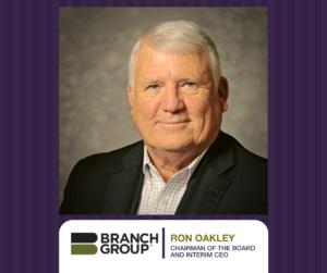 Chariman of the Board and Interim CEO Ron Oakley