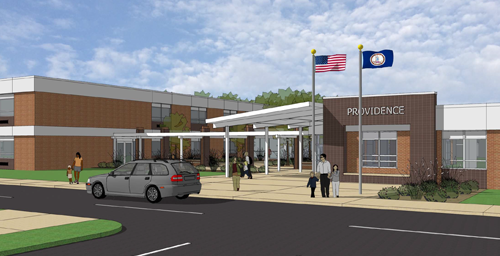 Branch and Associates Completes PH II of Providence Middle School