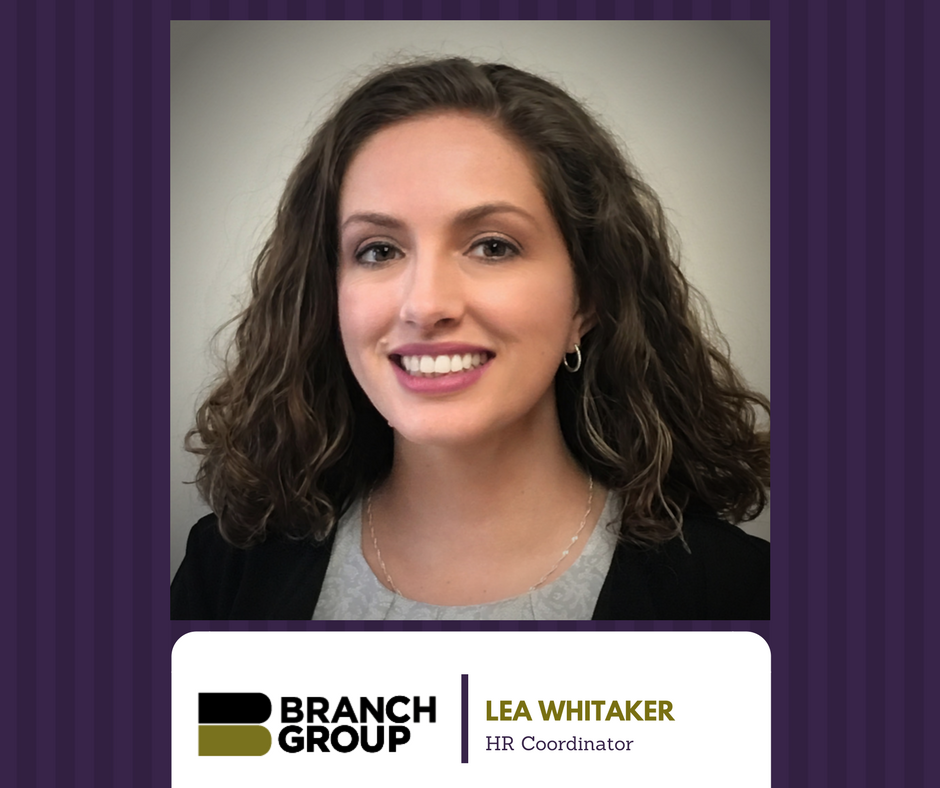 Branch Group Welcomes New HR Coordinator