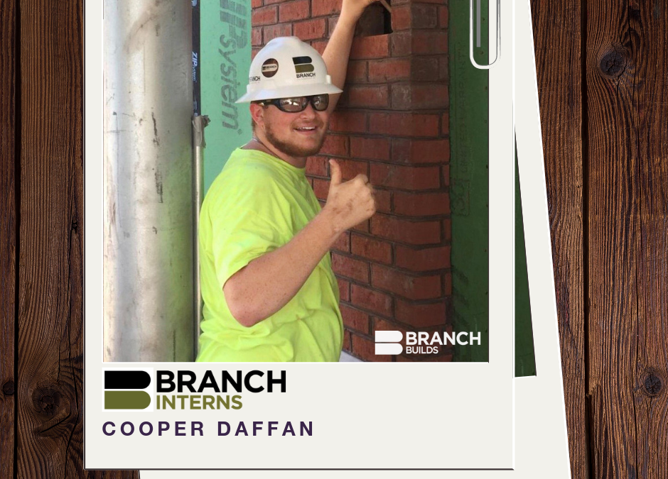 Meet the Intern:  Cooper Daffan