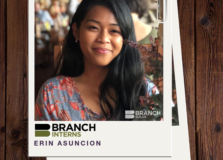 Meet the Intern:  Erin Asuncion