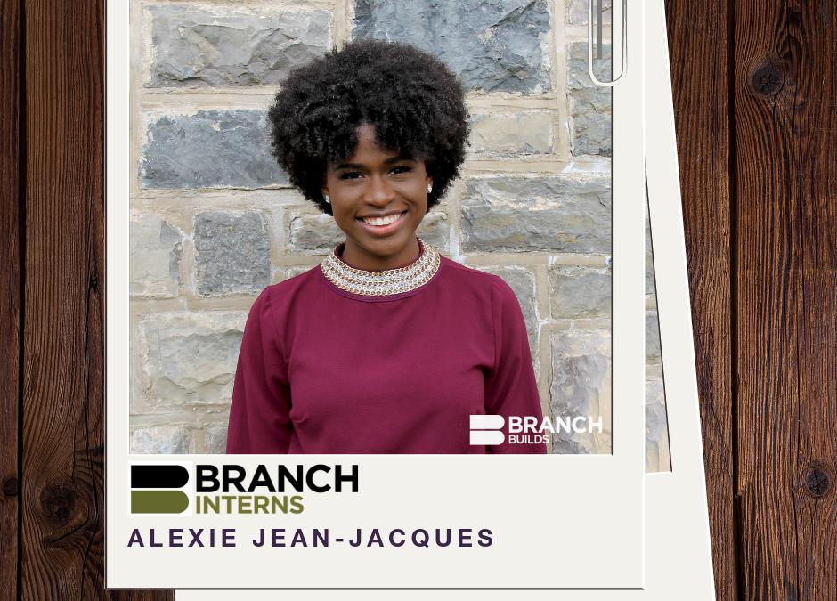 Meet the Intern: Alexie Jean Jacques