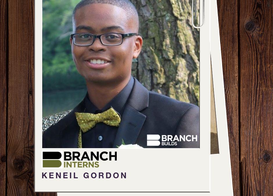 Meet the Intern: Keneil Gordon