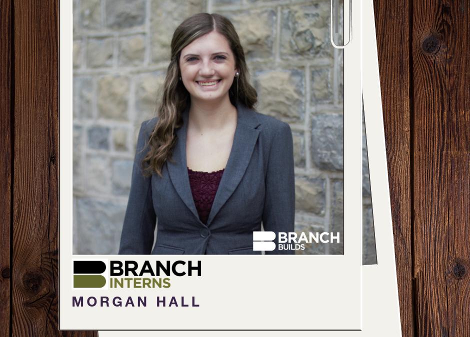 Meet The Intern: Morgan Hall