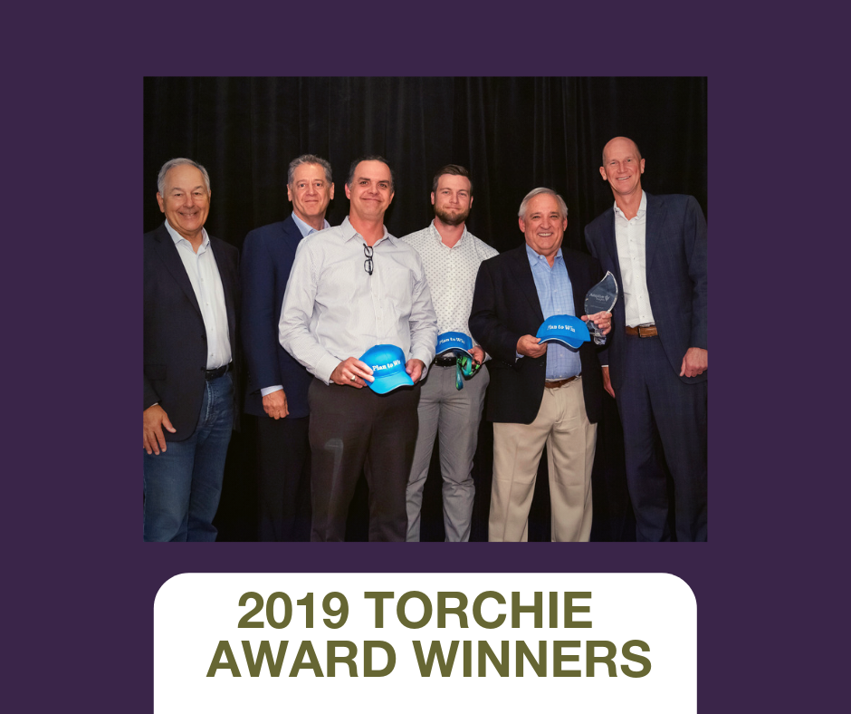 Branch Group receives Torchie Award for Excellence in Operational Planning