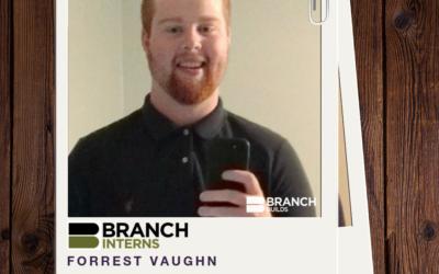 Meet the Intern: Forrest Vaughn