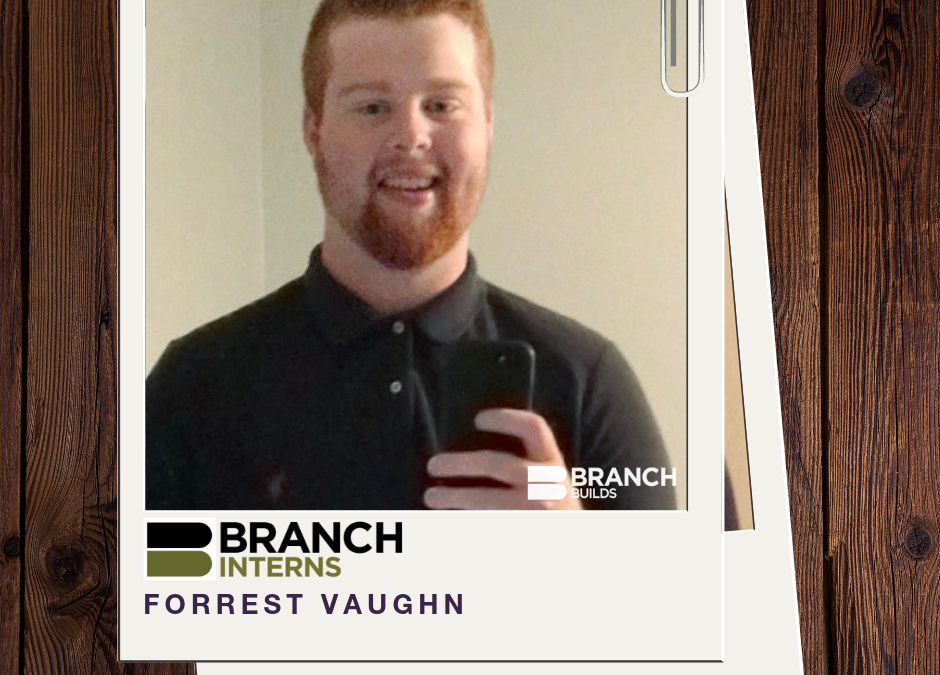 Meet the Intern: Forrest Vaughn