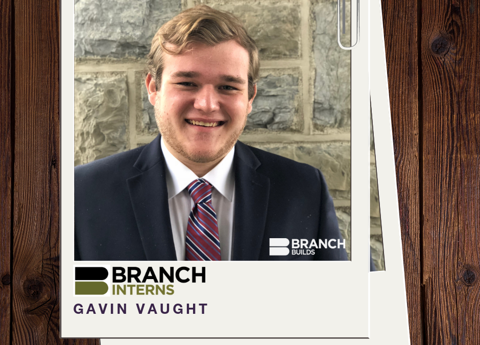 Intern Gavin Vaught