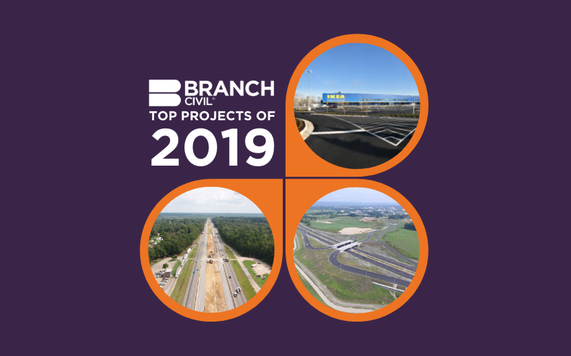 Branch Civil Top Projects of 2019