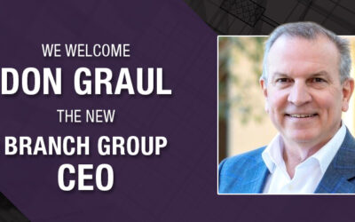 Donald Graul Named Branch Group Chief Executive Officer