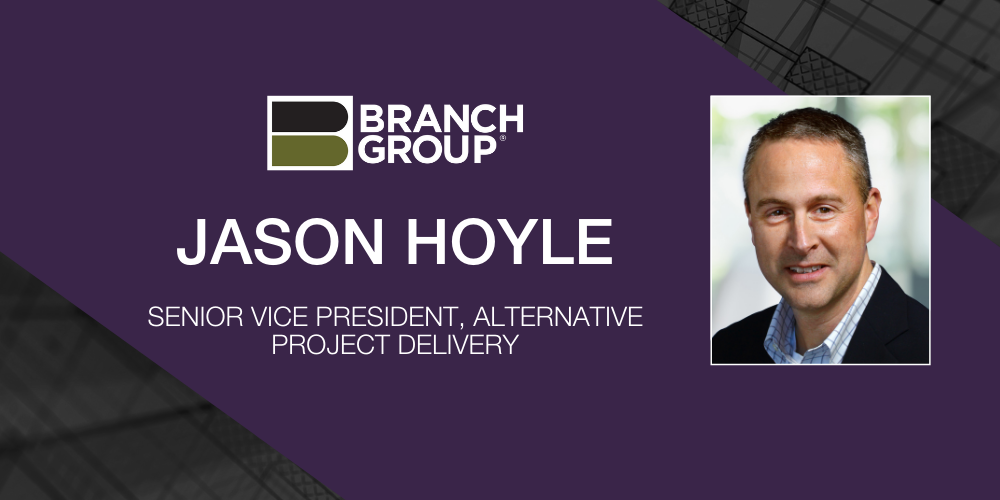 Hoyle Named Senior Vice President, Alternative Project Delivery